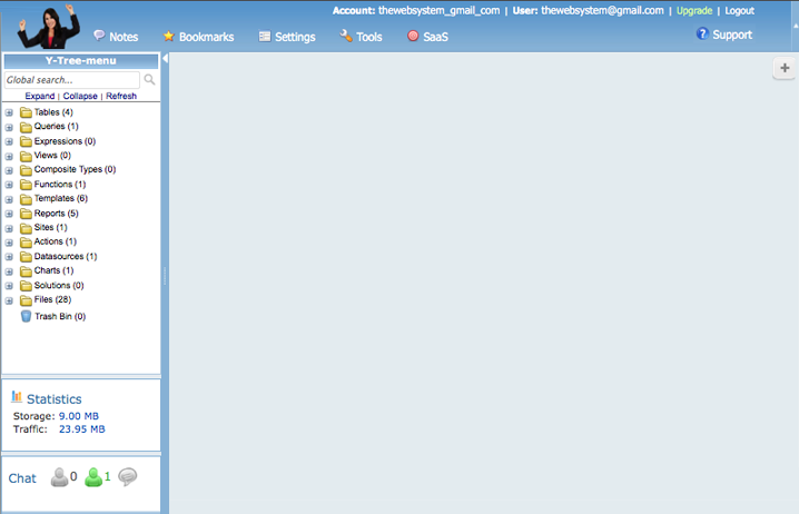 In The Beginning Your Web Office Is A Blank Slate Main