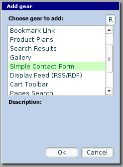 Action System 'Contact Form'
